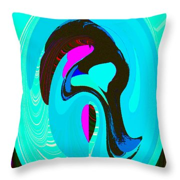 A Womans Heart Throw Pillow by David Lee Thompson
