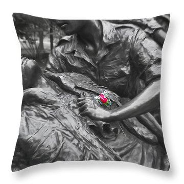A Wounded Nation Throw Pillow