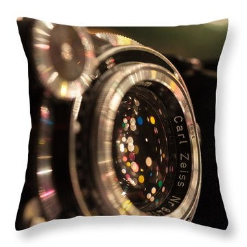 A Zeiss Christmas Throw Pillow by Aaron Aldrich