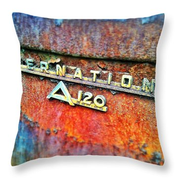 A120 Throw Pillow by Olivier Calas