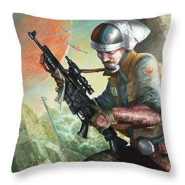 A280 Blaster Rifle  Throw Pillow