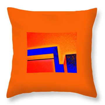 Manhattan Nocturne 66 Throw Pillow
