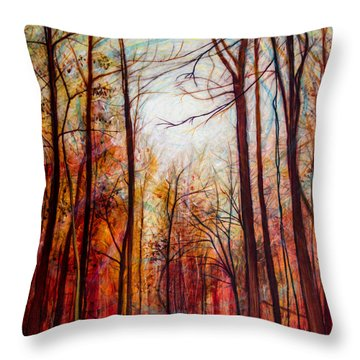Aaron's Forest Throw Pillow