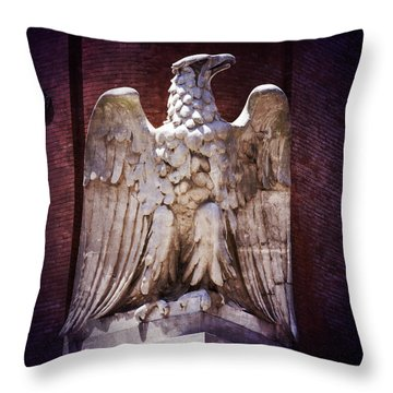 Ab Eagle St. Louis Brewery Throw Pillow