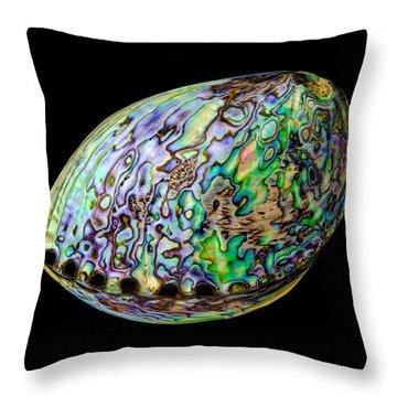 Abalone Shell Throw Pillow