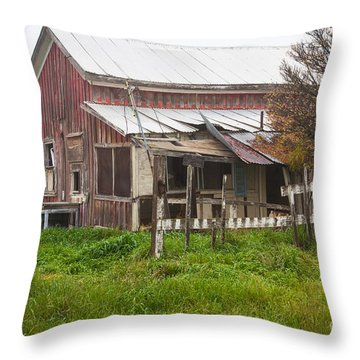 Abandon Throw Pillow