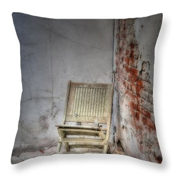 Abandoned But Not Forgotten Throw Pillow by Susan Candelario