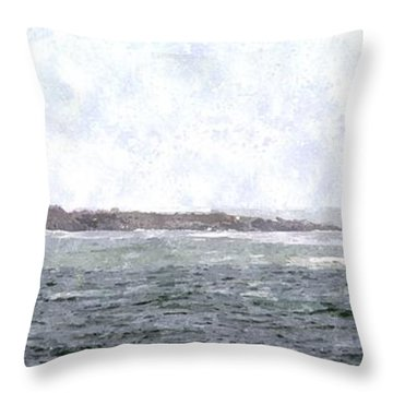 Abandoned Dreams Abwc Throw Pillow by Jim Brage