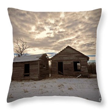Abandoned History Throw Pillow