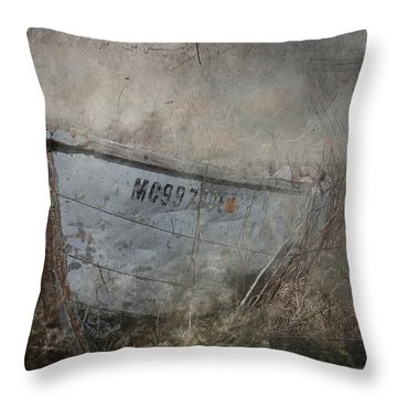 Abandoned On Sugar Island Michigan Throw Pillow