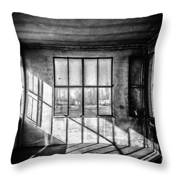 Abandoned Sugar Mill Throw Pillow