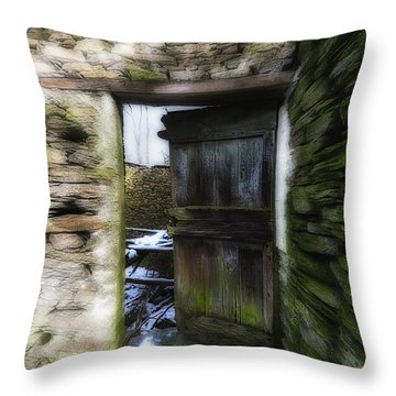 Abandoned Villages On Winter Time - Inverno Nei Paesi Abbandonati 07 Throw Pillow