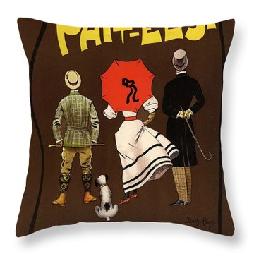 Abbots Phit-eesi Boots And Shoes Throw Pillow