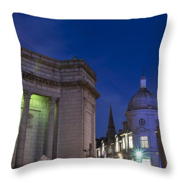 Aberdeen Art Gallery Throw Pillow