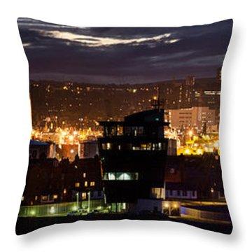Aberdeen Skyline Throw Pillow