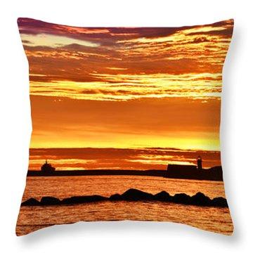 Aberdeen Sunrise Throw Pillow