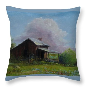 Abondoned Memories  Throw Pillow