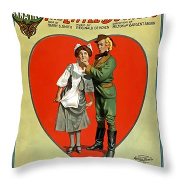About To Be Kissed Throw Pillow by Terry Reynoldson