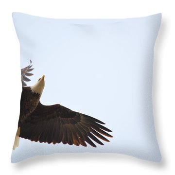 Above All Else Throw Pillow