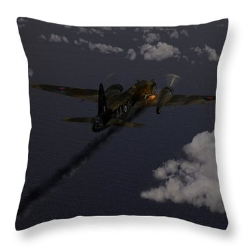 Above And Beyond - Jimmy Ward Vc Throw Pillow