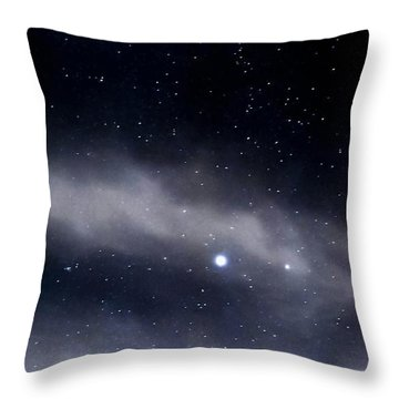 Throw Pillow featuring the photograph Above by Angela J Wright
