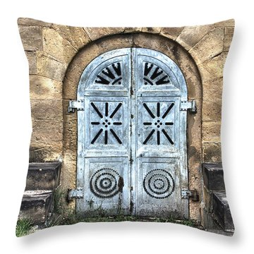 Above Ground Throw Pillow