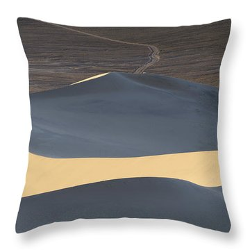 Above The Road Throw Pillow