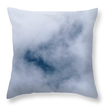 Above The Wind - Lake Geneva Wisconsin Throw Pillow