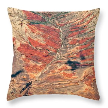 Throw Pillow featuring the digital art Above Timber Line by Mae Wertz