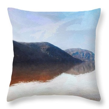 Above West Point Throw Pillow