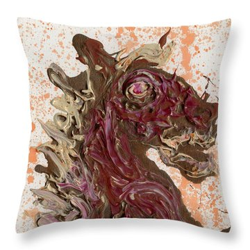 Abraxas Throw Pillow by Phil Strang