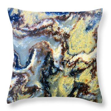 Patterns In Stone - 95 Throw Pillow