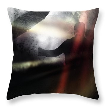 Absolute Elsewhere Throw Pillow by Taylan Apukovska