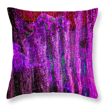 Throw Pillow featuring the photograph Abstract Vibe 4 by Laurie Tsemak