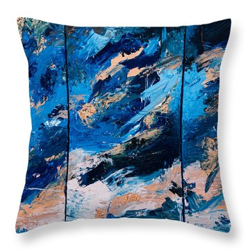 Abstract # 28  Throw Pillow