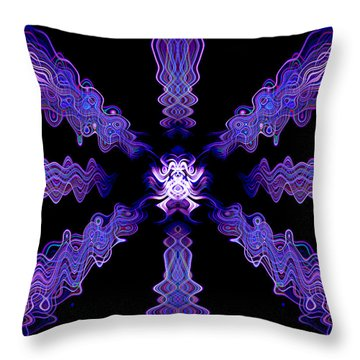 Abstract 0049 Throw Pillow