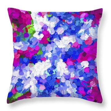Abstract Artwork 02 Throw Pillow
