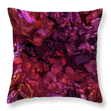 Abstract 053114 Throw Pillow by Matt Lindley