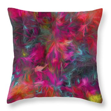 Abstract Artwork 06 Throw Pillow