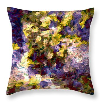 Abstract Artwork 10 Throw Pillow