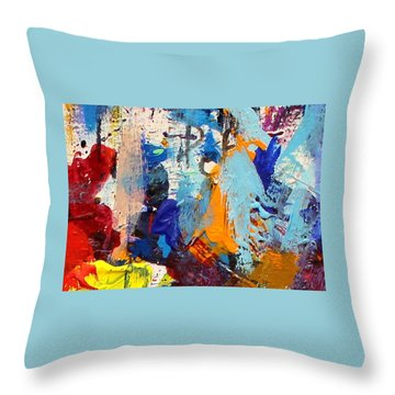 Abstract 10 Throw Pillow by John  Nolan