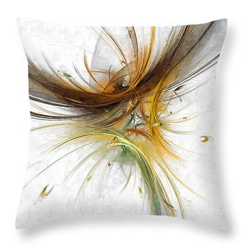 Abstract 100 Marucii Throw Pillow