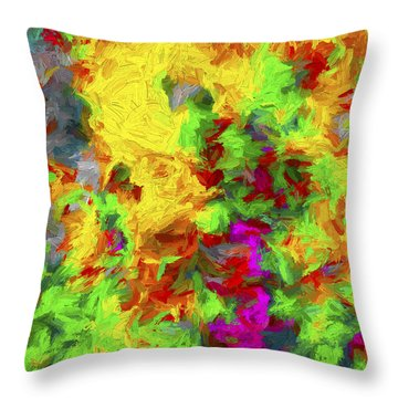 Abstract Arwork 11 Throw Pillow