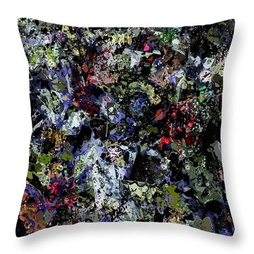 Abstract 112914 Throw Pillow