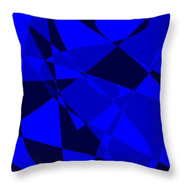 Abstract 154 Throw Pillow by J D Owen