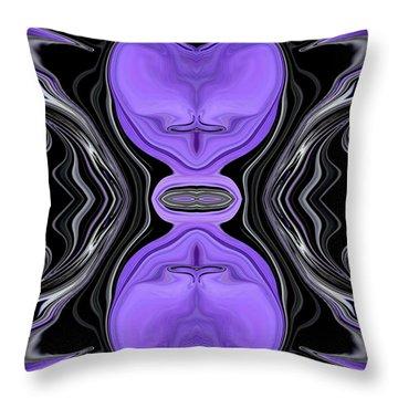 Abstract 157 Throw Pillow by J D Owen