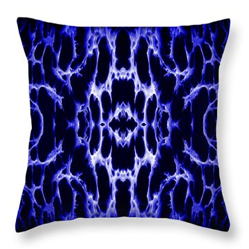 Abstract 158 Throw Pillow by J D Owen
