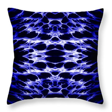 Abstract 159 Throw Pillow by J D Owen
