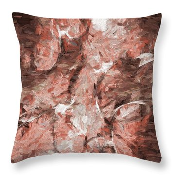Abstract Artwork 16 Throw Pillow