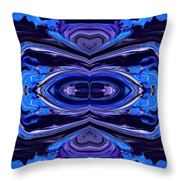 Abstract 175 Throw Pillow by J D Owen